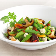 Asian wok vegetables