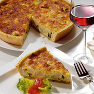 Autumn quiche with CAMBOZOLA